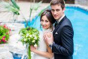 Свадебная фотосессия в Ботаническом саду и Заречном парке
