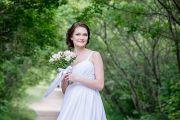 Свадебная фотосессия в парке и фотостудии