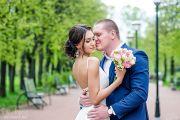 Свадебная фотосессия в парке и отеле
