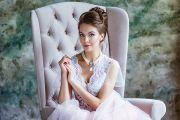 Фотосессия в будуарном платье. Утро невесты.